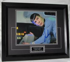"A950LN LEONARD NIMOY - ""STAR TREK"" AUTHENTIC SIGNED"